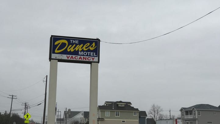 The owner of the Dunes by the Ocean motel wants to demolish the building and build condos on Ocean Avenue.