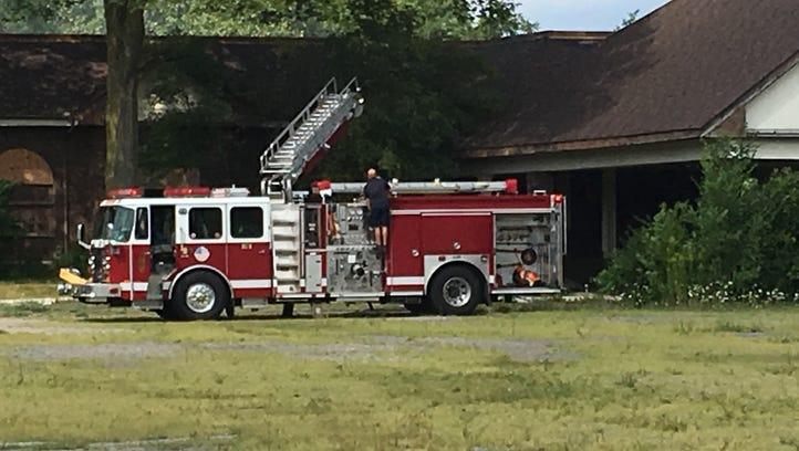 Westland firefighters battle Hawthorne Valley fire