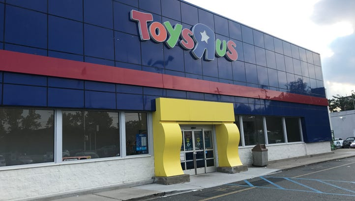 """The Toys """"R"""" Us store on Route 4 in Paramus."""