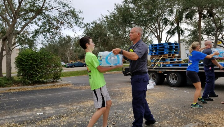 Coming to the rescue: Indiana town sends supplies to Bonita Springs after Hurricane Irma