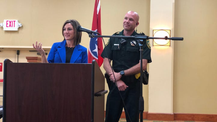 Madison County Sheriff's Office deputy named officer of the year for quick thinking