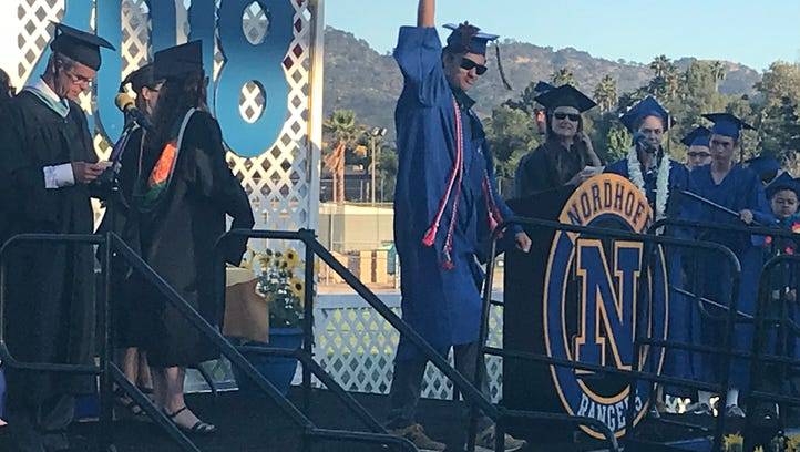 Seniors mark achievements at Nordhoff graduation