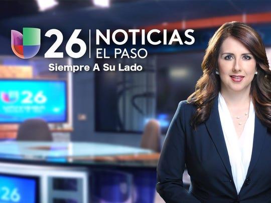 La periodista no únicamente conducía los noticieros de Canal 26, sino que también tenía a su cargo la producción de reportajes especiales.