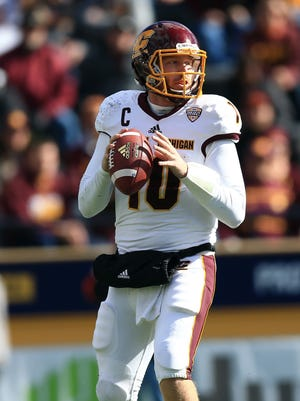 Cooper Rush, of the Lansing area, was a four-year starter at Central, under two different coaches, and set a bundle of program records.