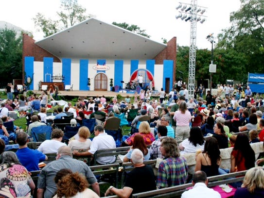 """Shakespeare Festival suggests a $10 donation, and they offer """"Royal Packages"""" with VIP treatment for $75."""