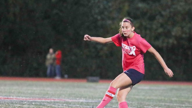 Portsmouth High School graduate Lily Tomlinson was a two-year captain for the girls soccer team.