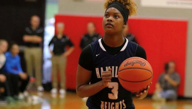 Tennessee signee Jazmine Massengill plays for Hamilton Heights Christian Academy in Chattanooga.