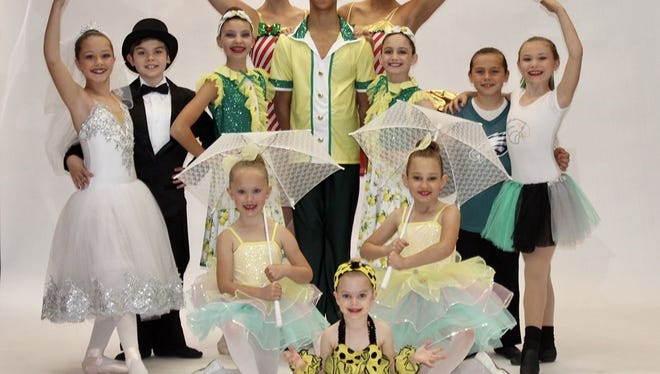 Students from Maxine's Dance Studio will present a 'Calendar Revue' for the studio's 46th annual recital. Using a variety of dance rhythms and styles, the dancers will take the audience through the year, from New Year's Day through Christmas.