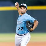 Redwood pitcher Rickie Garcia is the 2015 Times-Delta/Advance-Register baseball player of the year.