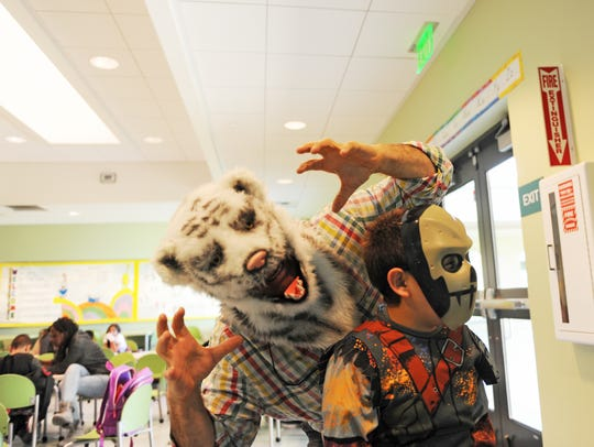 Children and adults alike made the afternoon of Halloween