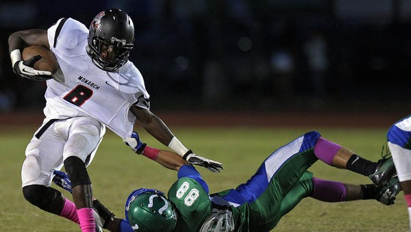 Florida native Calvin Ridley has verbally committed to Alabama. He's considered the top receiver for the 2015 class.