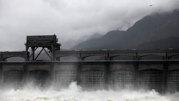As a wet winter and spring lead to the highest water flows through Bonneville Dam since 1996, tourists from around the nation are visiting.