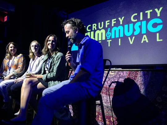 A live Q&A is held at the 2017 Scruffy City Film &