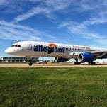 Allegiant Air flies high in Las Vegas