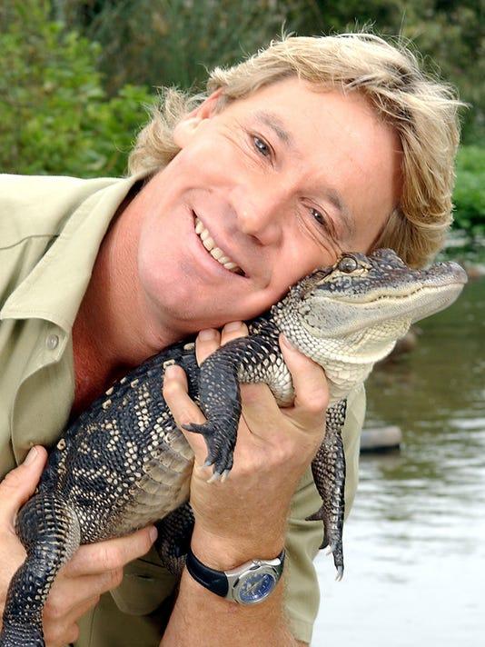 Photo of Bindi Irwin & her Father Steve Irwin