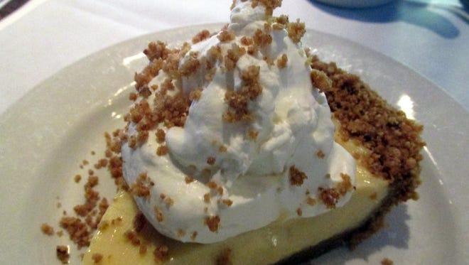 The Key Lime Pie at Houston's is a secret winner.