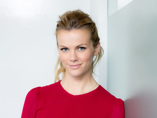 Actress/Model Brooklyn Decker, at USA TODAY offices in Los Angeles.