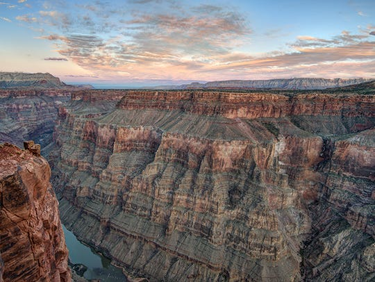 The Grand Canyon National Park in Arizona