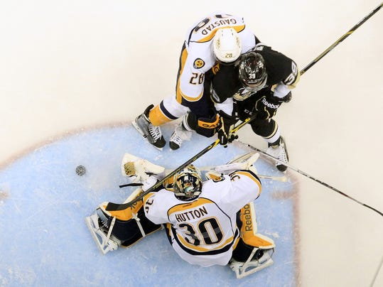 NHL: Nashville Predators at Pittsburgh Penguins