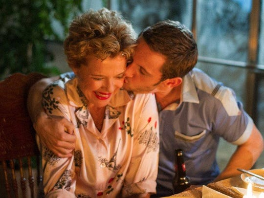 """Annette Bening and Jamie Bell in """"Film Stars Don't Die in Liverpool."""""""