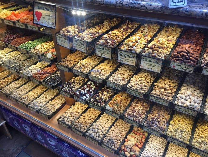 Hashems Nuts and Coffee Gallery in Dearborn, part of