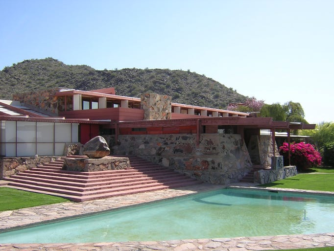 Talesin West, Scottsdale (Frank Lloyd Wright): Frank