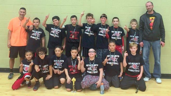 No Regrets youth basketball champs