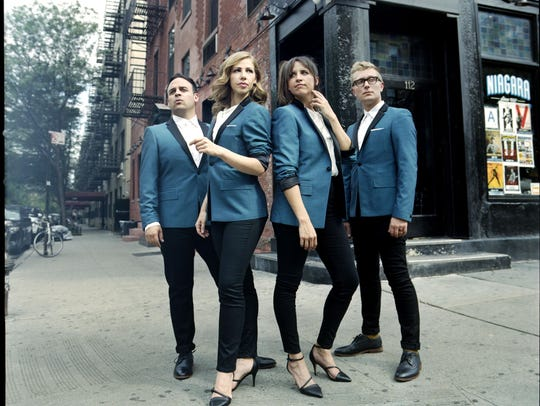 Michael Calabrese, Rachael Price, Bridget Kearney and Mike Olson of Lake Street Dive will perform June 2 at the Showroom at Montbleu Resort Casino.