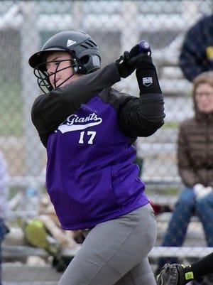 Fremont Ross catcher Chloe Roosen had an RBI-single Monday.