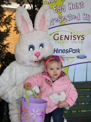 The Huron Valley egg hunt is this weekend