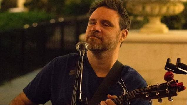 Brevard musician John Andrew Burr