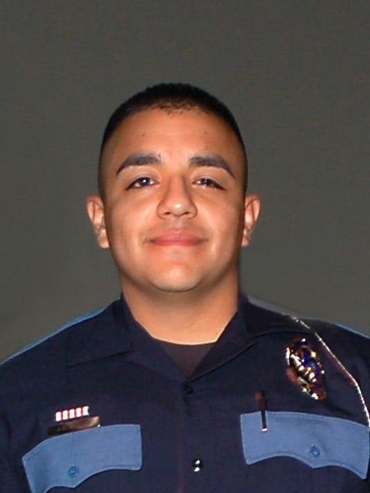 El Paso Police Officer Angel Garcia]