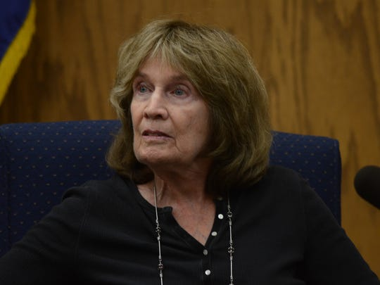 Patricia Simms testified to being Wayne Burgarello's long-time friend in his murder trial Thursday in Washoe County District Court in downtown Reno. Simms told the jury that Burgarello suffered memory loss from two strokes he suffered. She said he also needs to take thyroid medication.