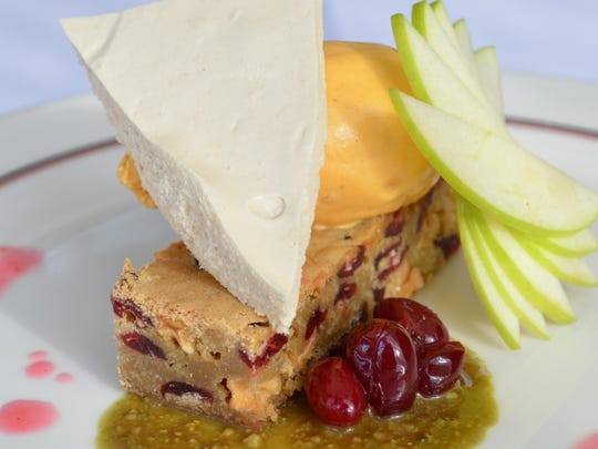 Courier News Dining Guide Frog and the Peach Decadent Dessert
