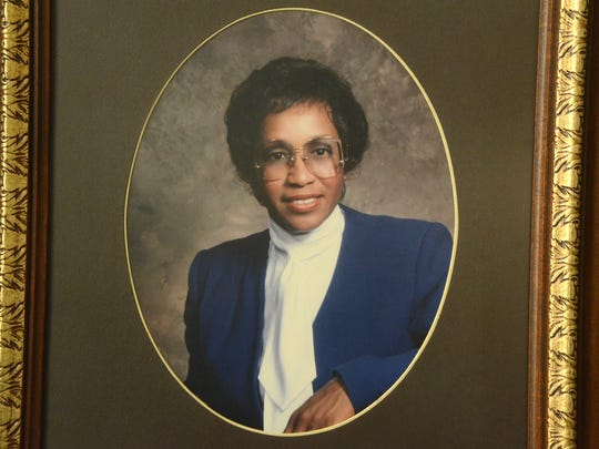 Maude Bristol-Perry, Battle Creek's mayor in 1984. She was the first black female to serve in the position. Bristol-Perry also was the first black Calhoun County commissioner.