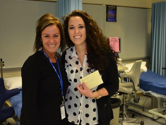 PRC 005 Nursing Student Awarded Scholarship by Pitman Women's Club.jpg