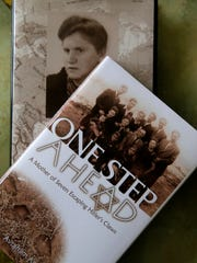"""One Step Ahead"" is a book that chronicles the story of  the family of Holocaust survivor Jeannie Parnes Wechsler, a Lakewood resident."