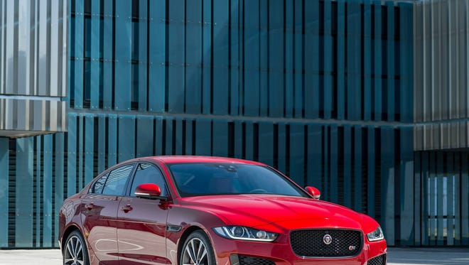 Jaguar XE is a new entry-level compact sedan