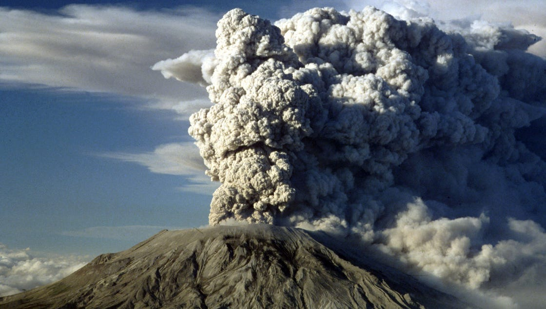 Volcanic Natural Disaster Today