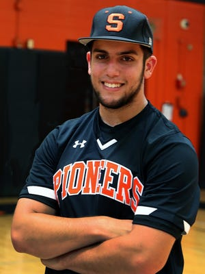 Somerville senior Thomas Babalis is the Courier News Baseball Player of the Year.