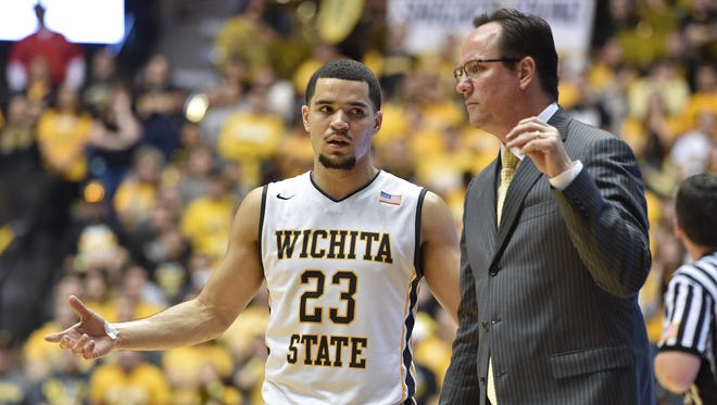 Wichita State senior guard Fred Van Vleet and Shockers coach Gregg Marshall will be on pins and needles when the NCAA tournament field is announced Sunday.