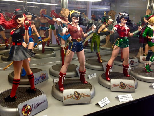 Comic Fortress sells comics and collectibles.