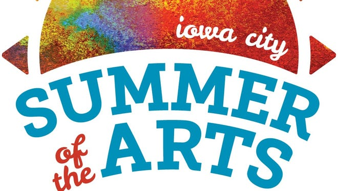 The logo for Iowa City's Summer of the Arts.