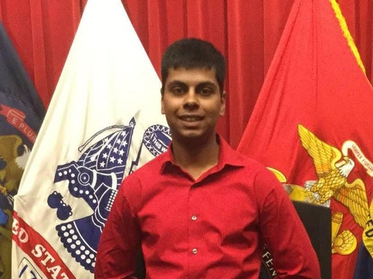 Raheel Siddiqui, 20, died after a fall at the Marine Corps' Parris Island boot camp in March 2016.