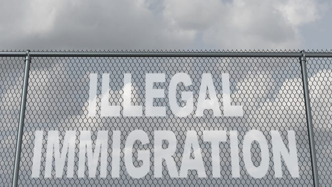 This country has a tradition of welcoming people from all over the world, but not those who are here illegally.