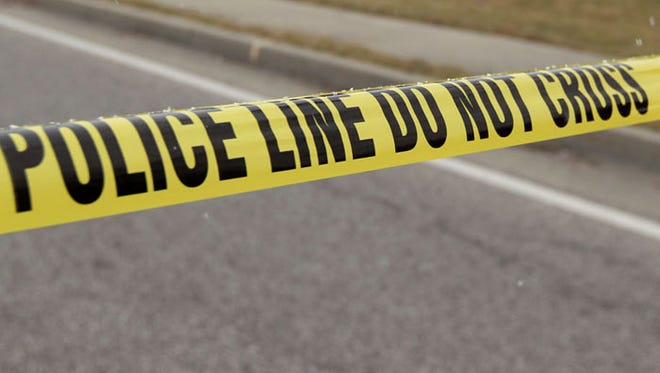 A Hamilton Township man shot his wife - and a naked teenager - in a bizarre incident Saturday.