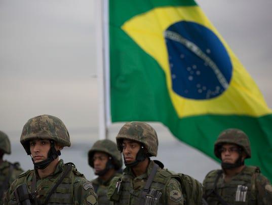 Brazil Terrorism Olympics