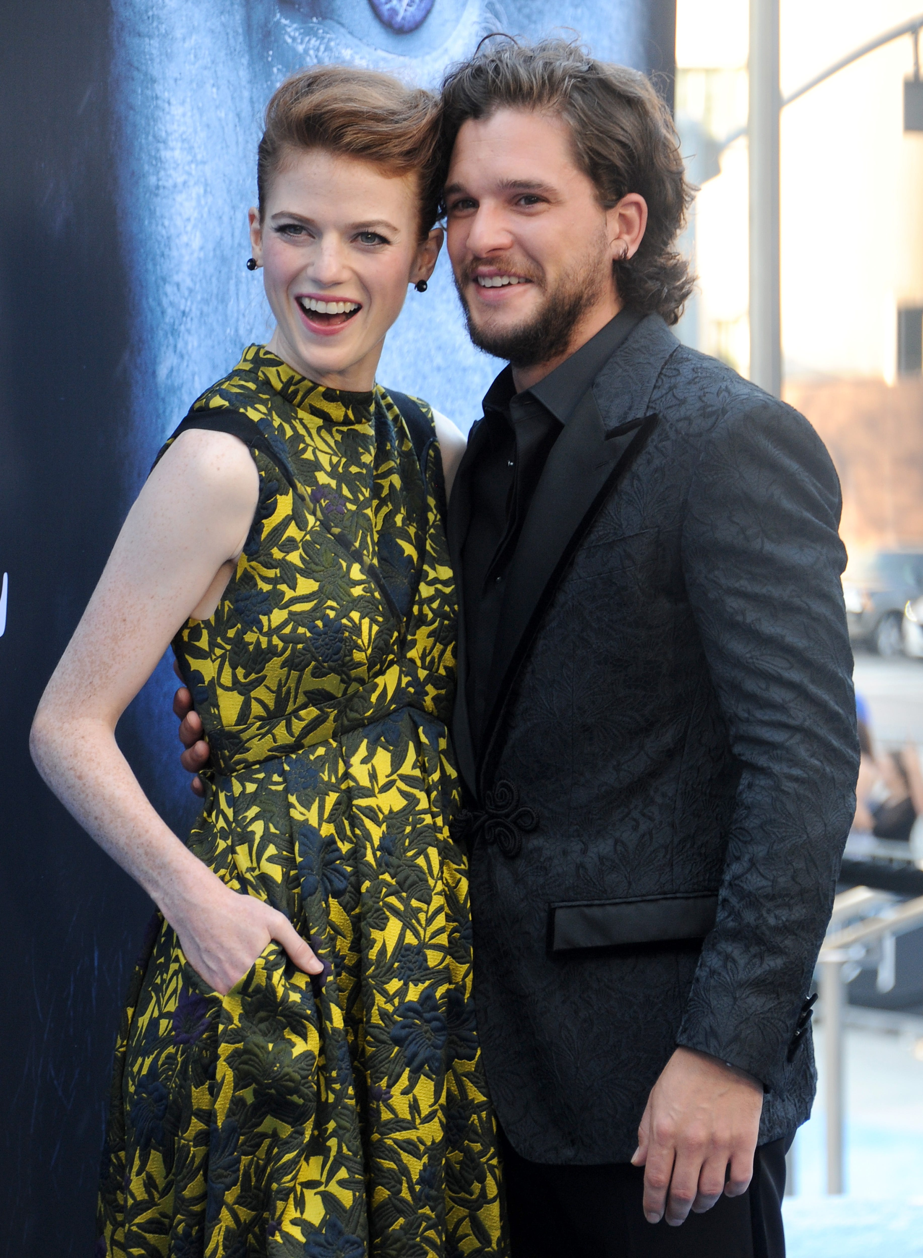 Star of the Game of Thrones Keith Harington marries Rose Leslie 09/26/2017 46