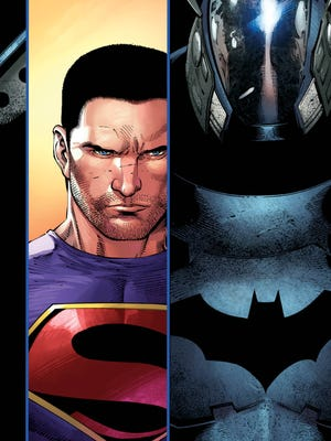 "Clark Kent and Jim Gordon don't know if they can trust each other in the new issue of ""Batman/Superman."""