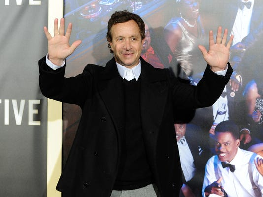"Pauly Shore attends the premiere of ""Top Five"" at the Ziegfeld Theatre on Wednesday, Dec. 3, 2014, in New York."
